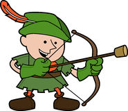 ilustracyjny Robinhood Obraz Royalty Free