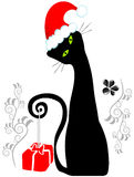 ilustracyjny Santa Obrazy Royalty Free