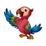 ilustracyjny siatki papugi wektor Obraz Stock