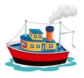 Ilustracyjny statek   Zdjęcia Stock