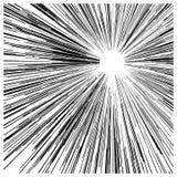 Ilustracyjny wektorowy abstrakcjonistyczny prędkość ruchu czerń wykłada, z circ Zdjęcie Stock