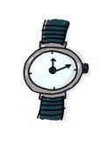 ilustracyjny wristwatch Zdjęcie Stock