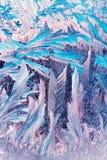 ilustracyjnych wzorów wektorowa nadokienna zima Zdjęcia Royalty Free