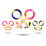 Ilustrador del sex symbol Foto de archivo libre de regalías