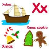 Ilustrador do alfabeto de X Imagens de Stock Royalty Free