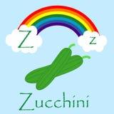 Ilustrador do alfabeto de Z Foto de Stock