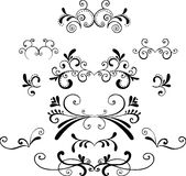 Ilustrações decorativas Foto de Stock Royalty Free