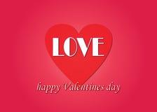 Ilustrações do amor Foto de Stock Royalty Free