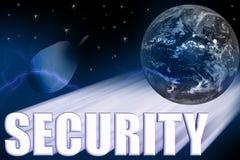 Ilustração 3-D da segurança Imagens de Stock