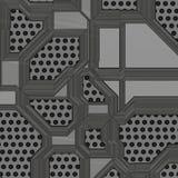 Ilustração artificial da placa de circuito Imagem de Stock Royalty Free