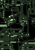 Ilustração artificial do circuito do cyber Imagens de Stock Royalty Free