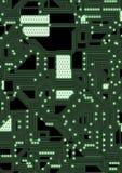 Ilustração artificial do circuito do cyber Imagem de Stock Royalty Free