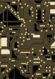 Ilustração artificial do circuito do cyber Foto de Stock Royalty Free