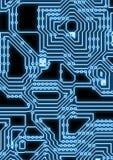 Ilustração artificial do circuito do cyber Fotos de Stock Royalty Free