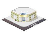 Ilustração da loja Foto de Stock Royalty Free