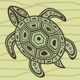 Tartaruga de mar decorativa Imagens de Stock