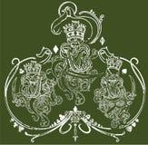 ilustração de 3 reis Imagem de Stock Royalty Free