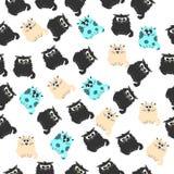 Ilustração de um gato bonito Imagens de Stock
