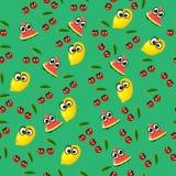 Ilustração de uma melancia Fotos de Stock Royalty Free