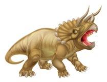 Ilustração do dinossauro do Triceratops Fotografia de Stock