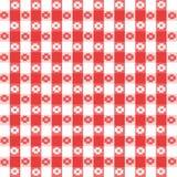 Ilustração do Tablecloth Fotografia de Stock