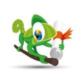 Ilustração do vetor chameleon Fotos de Stock Royalty Free