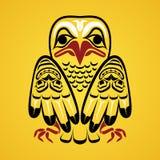 Ilustração do vetor de uma águia. Foto de Stock