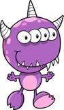 Ilustração do vetor do monstro Foto de Stock Royalty Free