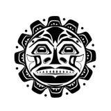 Ilustração do vetor do símbolo do sol Imagens de Stock Royalty Free
