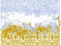 Ilustração floral do feriado Foto de Stock