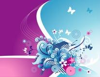 Ilustração floral do vetor Imagens de Stock Royalty Free