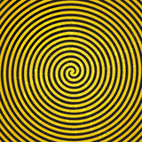 Ilustração hipnótica do Grunge retro Background.Vetora do vintage Imagem de Stock