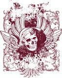 Ilustração má do anjo Imagem de Stock Royalty Free
