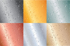 ilustração metálica das placas Foto de Stock