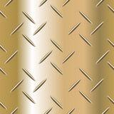 Ilustração ondulada do vetor da placa de aço Fotos de Stock Royalty Free