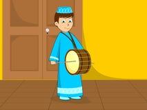 Ilustração para o kareem ramadan Imagens de Stock