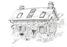 Ilustração pouca casa Foto de Stock Royalty Free