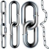 Ilustração sem emenda do vetor da ligação Chain Foto de Stock