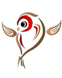Ilustration птицы стоковое изображение