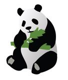 Ilustration dell'orso del panda Immagine Stock