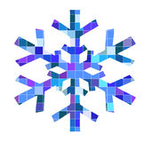 Ilustration of snowflake Stock Photo