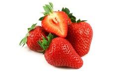 ilustration tła pojedynczy truskawkową white wektor zdjęcia stock