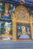 Ilustrations på en tempel Fotografering för Bildbyråer