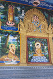 Ilustrations at a temple Stock Image