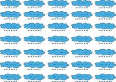 Ilustratora tła chmury kształt ilustracji