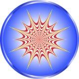 iluzja pulsetting ilustracja wektor