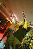 Ilya Fligeltaub - tromba, al perfo della fascia del Alai Oli Immagine Stock Libera da Diritti