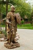 Ilya Muromets hero of Russian epic - city Monument Stock Image