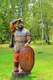 Russian hero Ilya Muromets. stock photos
