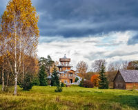Ilya Repin-de zomerwoonplaats stock fotografie